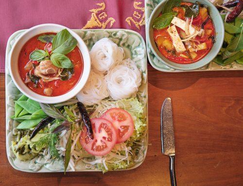 Januar Gericht – Kanom Jin Nam Ya ขนมจีนนำ้ยา