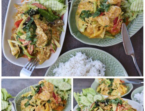 April Gericht: Mit indischem Currypulver angebraten – Pad Pong Garri –  ผัดผงกะหรี่